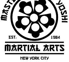 Master Hamato Yoshi by CarloJ1956