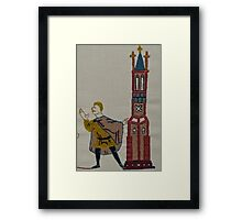 Tower lookout Framed Print