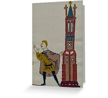 Tower lookout Greeting Card