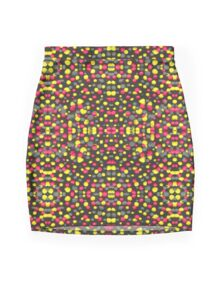 Valley Girl Dots Mini Skirt