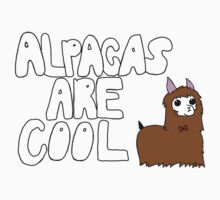 Alpacas Are Cool Kids Tee