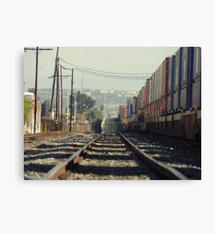 To & Away Canvas Print