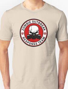 Zombie Outbreak Response Team Skull Gas Mask Unisex T-Shirt