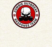 Zombie Outbreak Response Team Skull Gas Mask Hoodie