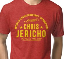 Man of 1004 Holds Tri-blend T-Shirt