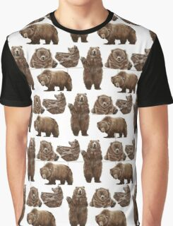 Bears Bears Bears Bears Graphic T-Shirt