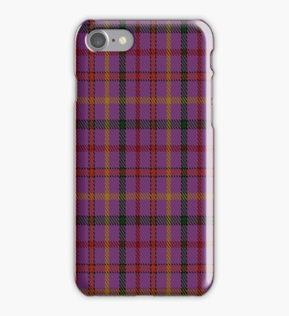 01398 The Child Fashion Tartan  iPhone Case/Skin