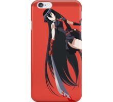 Akame Ga Kill iPhone Case/Skin