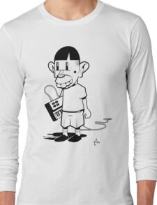 Rat Fink Moog Long Sleeve T-Shirt