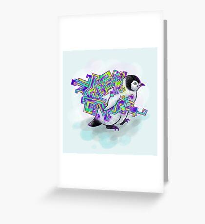 Spirit Penguin Greeting Card