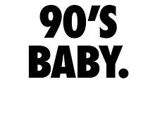 90's BABY Photographic Print