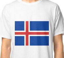 Iceland Flag/ Euro 2016 Classic T-Shirt