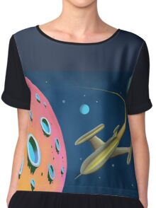 Adventure In Space Chiffon Top