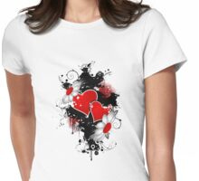 Love Womens Fitted T-Shirt