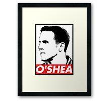 OBEY John O'Shea Framed Print