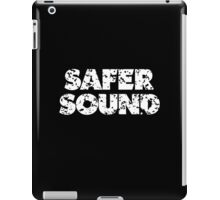 Safer Sound Used White iPad Case/Skin