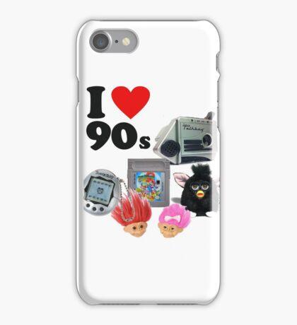 I <3 90s! iPhone Case/Skin