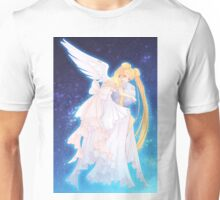 Angels on the Moon Unisex T-Shirt