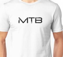 MTB Muddy Mountain Bike  Unisex T-Shirt