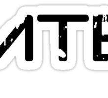 MTB Muddy Mountain Bike  Sticker