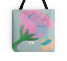 Ethereal Flower Tote Bag