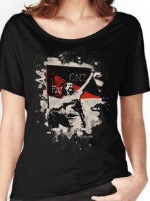 Anarchy Flag Woman - bleached look Women's Relaxed Fit T-Shirt