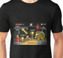 Mario's Super World: Bowser's Castle Unisex T-Shirt