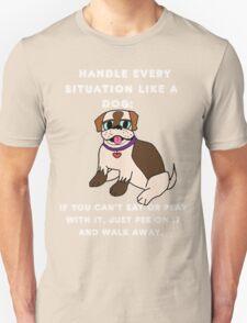 like a dog Unisex T-Shirt