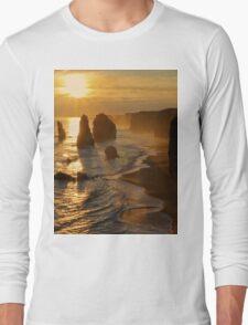Glowing Sunset, 12 Apostles Long Sleeve T-Shirt