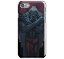 Croatan monster iPhone Case/Skin