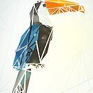 polygon bird by lokta