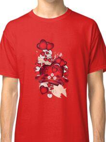Love hearts Classic T-Shirt