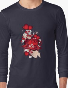 Love hearts Long Sleeve T-Shirt