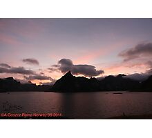 Wonderful Remembers Never Fade- My Travel Photography. Lofoten Islands . Norway  Anno Domini 2011. Andrzej Goszcz. Photographic Print