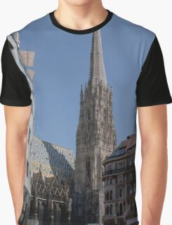 Stephansdom Wien Österreich Graphic T-Shirt