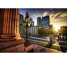 Melbourne sunset 2 Photographic Print