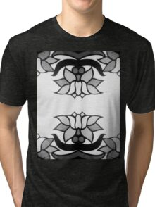 Black Lotus Tri-blend T-Shirt