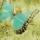 Butterfly Retro Grunge by T-ShirtsGifts
