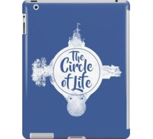 Circle of Life (WHITE) iPad Case/Skin