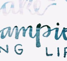 Young Life Lake Champion  Sticker