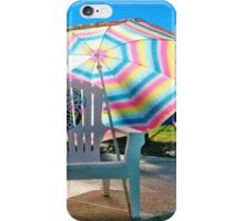 JULY 4TH BY THE POOL iPhone Case/Skin