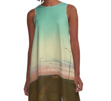 Bridge Over Troubled Waters A-Line Dress