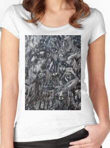 Nightmare Vision Women's Fitted Scoop T-Shirt