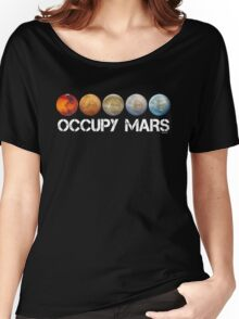 Occupy Mars Terraform Women's Relaxed Fit T-Shirt