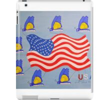 Butterflies on the Fourth of July iPad Case/Skin