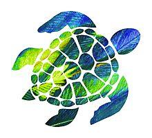 Tye Dye Turtle Photographic Print