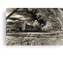 Derelict train Canvas Print
