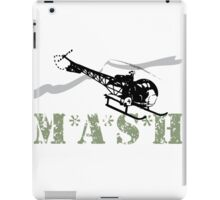 MASH Helicopter IN COMING iPad Case/Skin