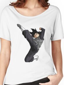 Black Goku Women's Relaxed Fit T-Shirt