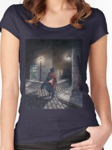 Murder by Gas Lamp Women's Fitted Scoop T-Shirt